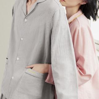 DAPU 大朴 拾光系列 男女款纱布睡衣套装 AF1F12202