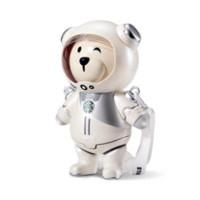 STARBUCKS 星巴克  宇航员小熊造型 储物桶