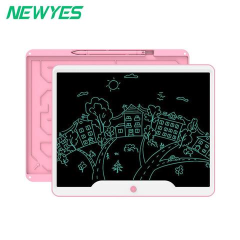 NEWYES 15英寸液晶手写板 粉白款-单色屏