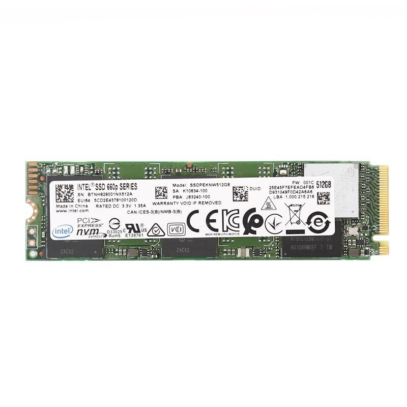 intel 英特尔 660P NVMe M.2 固态硬盘(PCI-E3.0)