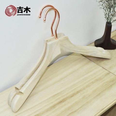 吉木 香樟木衣架   5个装
