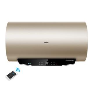 海尔(Haier)电热水器 一级能效智能APP 3D速热增容大水量储水式净水洗 家用节能保温MK3 80升