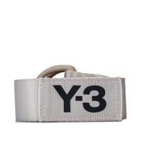 Y-3 Buckle Belt Logo 银色环扣腰带
