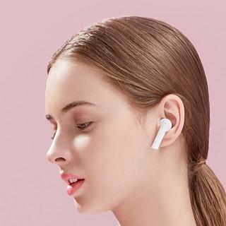 Haylou 嘿喽 T33 半入耳式真无线降噪蓝牙耳机 纯森白