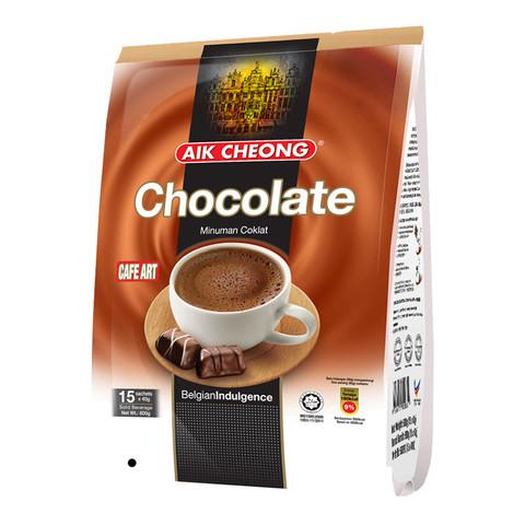 马来西亚原装进口 益昌香浓热巧克力粉可可粉冲饮袋装600g