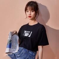 JEANSWEST 真维斯   JY-11-273052 女士动漫印花t恤