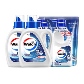 88VIP : Walch 威露士 除菌洗衣液套装 1L*2瓶+500ml*2袋