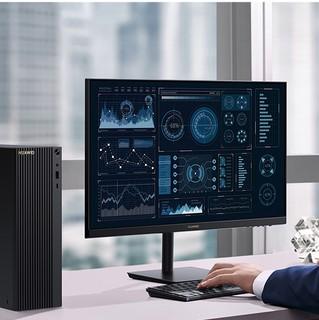 HUAWEI 华为 23.8英寸 台式机 黑色(锐龙R5-4600G、核芯显卡、8GB、512GB SSD、PanguL-WEH9B+AD80HW)