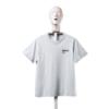 AFFIX 男女款圆领短袖T恤 POWDER GREY S
