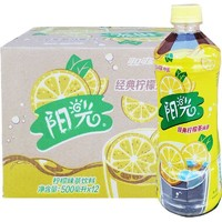 Coca-Cola 可口可乐 阳光系列柠檬茶 500ml*12瓶