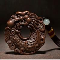 铜师傅 全铜手把件工艺品 富贵有余