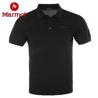 Marmot 土拨鼠  H60323 男士速干POLO衫
