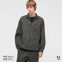 男装 +J SUPIMA COTTON双口袋宽松衬衫 440372