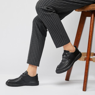 新款男士休闲鞋休闲皮鞋男鞋皮鞋男鞋子