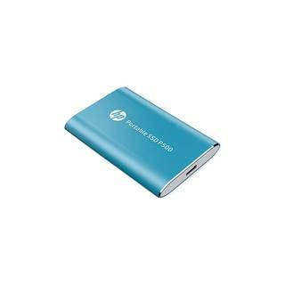 HP 惠普 P500系列 P500 USB3.1移动固态硬盘 Type-c 蓝色 256GB