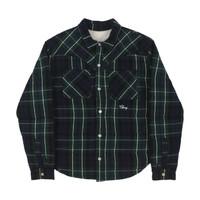 CHERRY 男士法兰绒长袖衬衫 GREEN XL