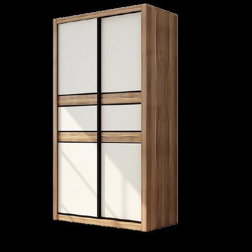 AHOME A家家具  简约现代推拉门衣柜 1.2m