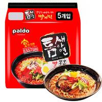 韩国进口 八道(PALDO)方便面拉面 极地麻辣汤面 缝隙拉面 600g(120g*5包入)