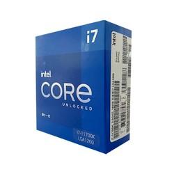 intel 英特尔 酷睿 i7-11700K 盒装处理器