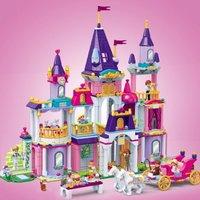 GUDI 古迪 女孩系列9009-9615皇家城堡