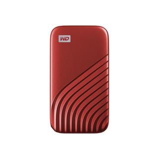 Western Digital 西部数据 My Passport NVME M.2 移动固态硬盘 时尚版 红色