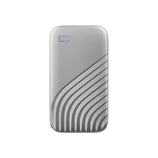 Western Digital 西部数据 My Passport系列 NVMe M.2 移动固态硬盘 4TB 时尚版 深空灰
