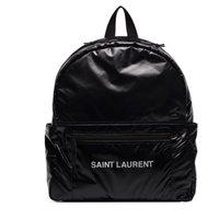 Saint Laurent Nuxx Ripstop logo印花背包 - Farfetch
