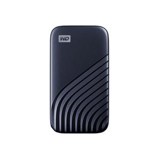 Western Digital 西部数据 My Passport NVMe 移动固态硬盘 2TB 时尚版 宇宙蓝