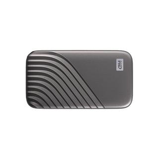 Western Digital 西部数据 My Passport SSD系列 NVME 移动固态硬盘 Type-C 1TB 深空灰 时尚版