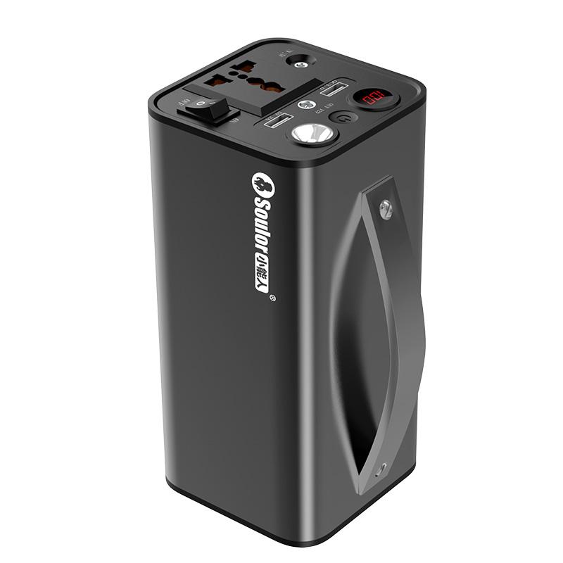 soulor 小能人 户外移动电源220V便携蓄电池110V大容量自驾游笔记本行动直播插座