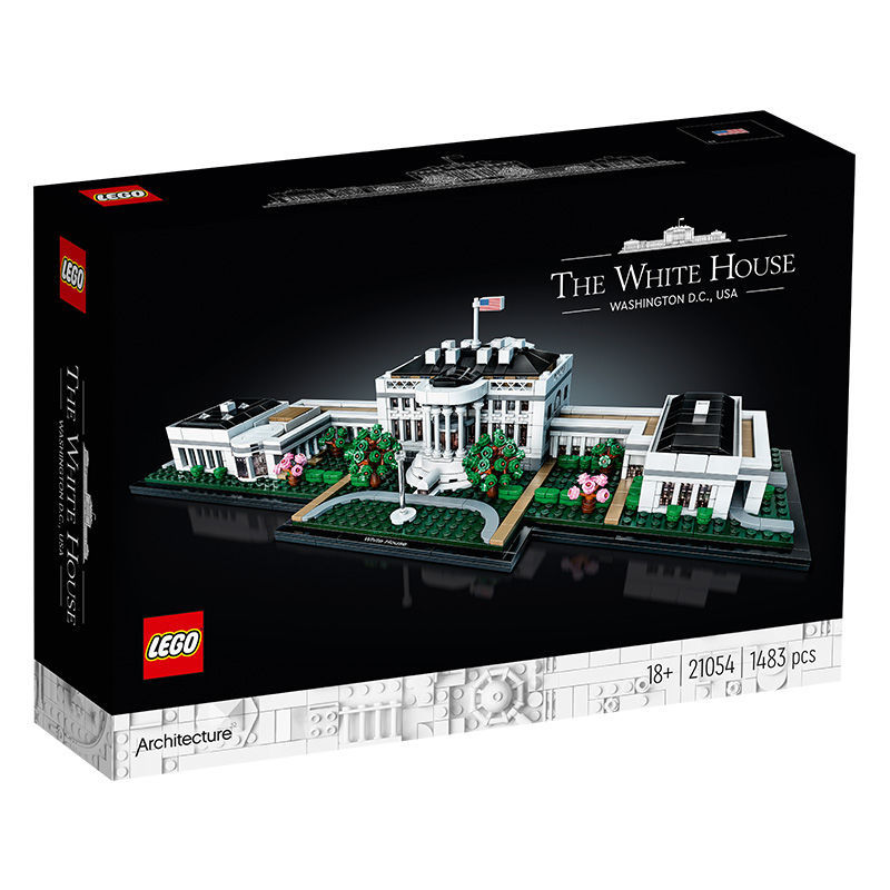 LEGO 乐高  Architecture建筑系列 21054 白宫