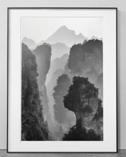 【pica photo】 Kairos中国山水研习 1号 33 x 28 cm装饰画 P-Lab Giclée 收藏级影像工艺
