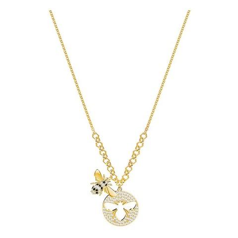 施华洛世奇(Swarovski) 人造水晶 LISABEL蜜蜂项链女锁骨链 欧美风格 送恋人