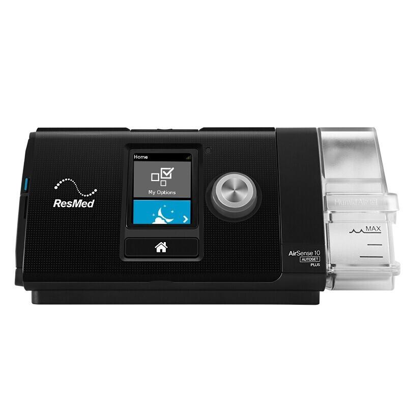ResMed 瑞思迈 S系列 AirSense™10 呼吸机 黑色 升级款
