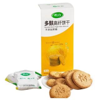 怡力 多麸高纤饼干 黑芝麻味 216g