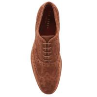 TED BAKER 男士麂皮牛津鞋