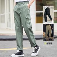 Semir 森马 13C010271225-5601 男士直筒工装裤