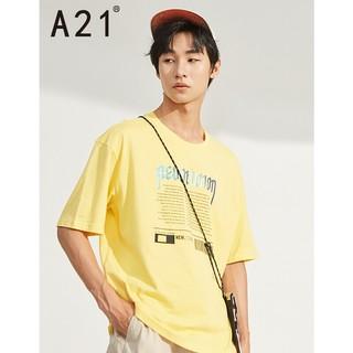 A21 F402131005 男士短袖T恤