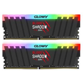 GLOWAY 光威 血影系列 DDR4 3600MHz RGB 黑色 台式机内存 16GB 8GBx2