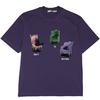 MODITEC 男女款短袖T恤 M0059 紫色 L