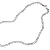 臻汇银 2121AD037803 马鞭925银项链 53cm