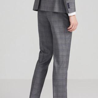 SELECTED 思莱德 男士格纹西裤 42016A511