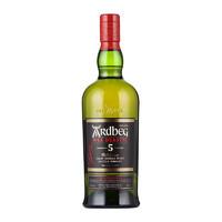 雅柏(Ardbeg)阿德贝哥/雅柏/雅伯/阿贝单一麦芽威士忌 原装进口洋酒 雅柏艾雷 阿德贝哥5年小怪兽700ml