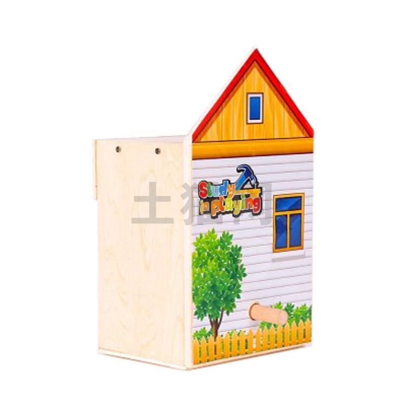 WORKPRO/万克宝-木制儿童玩具-鸟屋-(W135001N)/1个