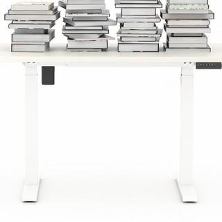 Brateck 电动升降电脑桌 浅色 1.2m 标准款