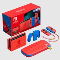 补贴购:Nintendo 任天堂 Switch 国行 马力欧限定版主机套装
