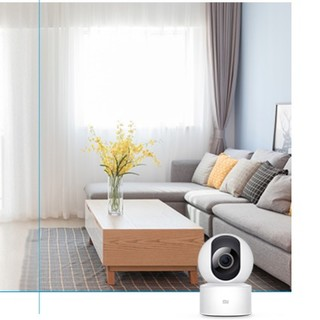 MI 小米 SE+  1080P 智能云台摄像头 200W像素 红外 白色