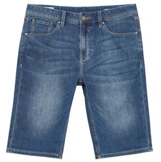 JACK JONES 杰克琼斯 男士牛仔短裤 220243523