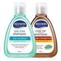 Redwin 无硅油控油防脱发煤焦油洗发水套装(茶树油250ml+煤焦油250ml)