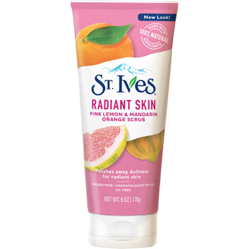 St.Ives 圣艾芙 柠檬柑橘面部磨砂膏    170g